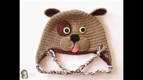 imagenes de gorros de animales n 186 01 gorros para bebes tejidos a crochet youtube