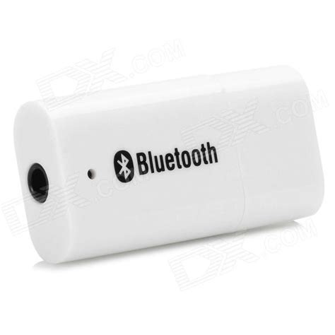 Best Seller Receiver Pt 04s1 pt 810 mini style usb bluetooth v2 0 edr audio receiver white free shipping dealextreme