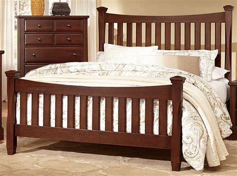 bedford cherry poster bedroom set from virginia house
