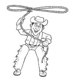 cowboy coloring pages cowboy western coloring page coloring home