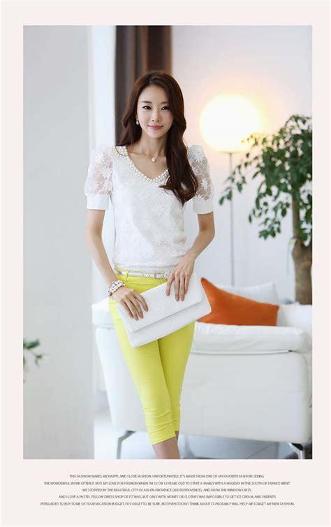 Atasan Wanita Hitam Putih Polos Katun Import Murahcasual Elegan blazer wanita korea bunga terbaru newhairstylesformen2014