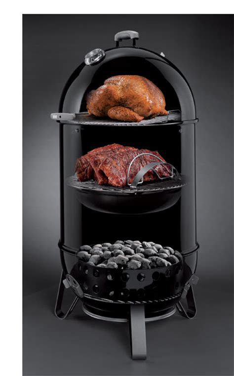 amazon com weber 721001 smokey mountain cooker 18 inch charcoal smoker black patio lawn