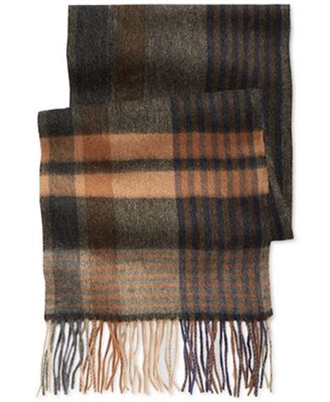 club room macy s club room wide stripe scarf only at macy s hats gloves scarves macy s