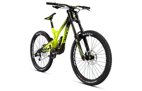 commencal dh supreme commencal 2016 supreme dh v4 race rockshox yellow 2016