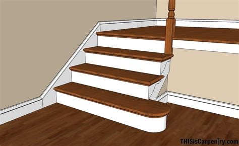 Baseboard Height by Scribing Skirt Boards Thisiscarpentry