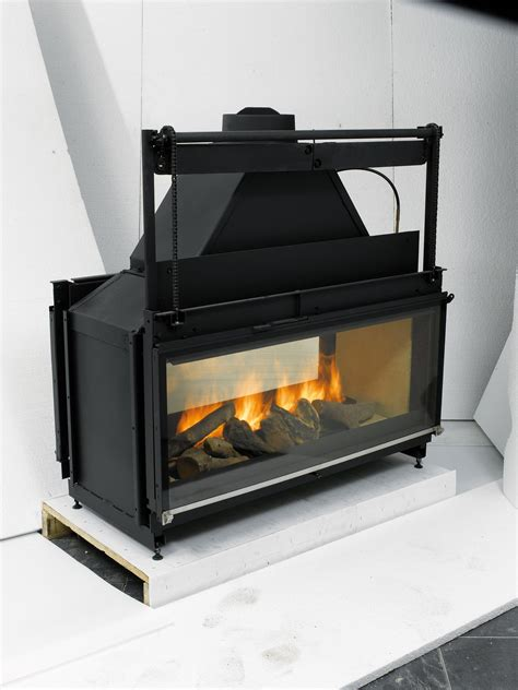 sided gas fireplace inserts fireplaces