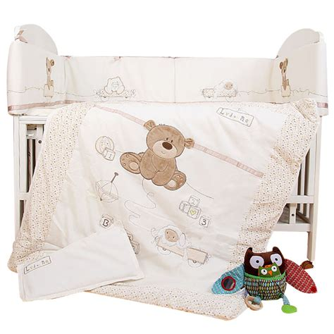 Baby Boy Bed Set Aliexpress Buy 7pcs Baby Bedding Set For Crib Newborn Baby Bed Linens For Boy