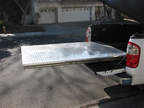 build your own truck bed slide out truck bed slide plans bed plans diy blueprints