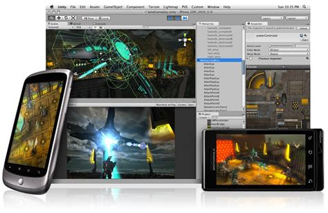 engine for android developers pre order unity3d pro engine for android get a free nexus one