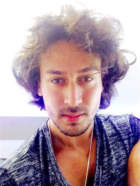 tiger shroff hair style tiger shroff on twitter quot bad hair day but i don t care