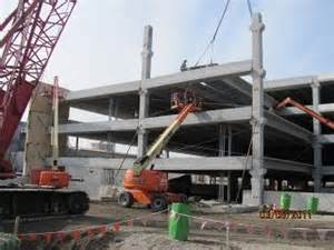Precast Garage Construction by Services Transue Engineering