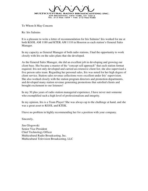 Sle Recommendation Letter For College Student Sle Letter Of Recommendation Template 28 Images