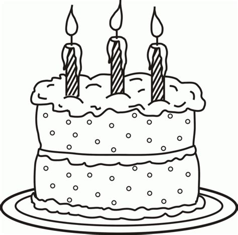 free coloring page of a cake get this free birthday cake coloring pages to print 39122