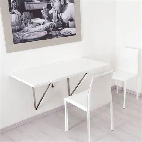 tavolo a muro i tavoli pieghevoli a muro di ntc new table concept