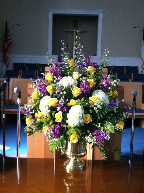 fresh greens in basket on floor of altar christmas 2013 17 best images about large floral arrangment on pinterest