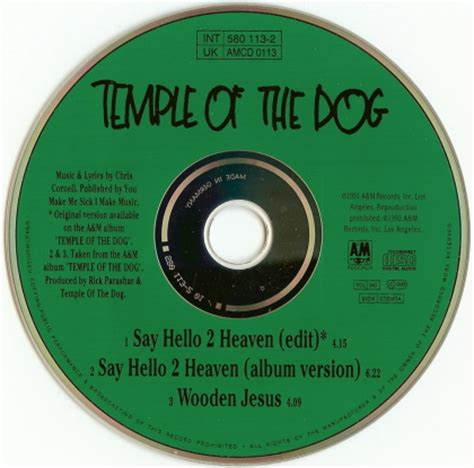temple of the say hello 2 heaven temple of the say hello 2 heaven 5 cd slimline uk germany www