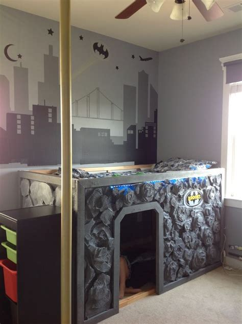 Bat Cave Bedroom by Bed Bat Cave Bed In Room Used Ikea Kura Bed And Designed From There