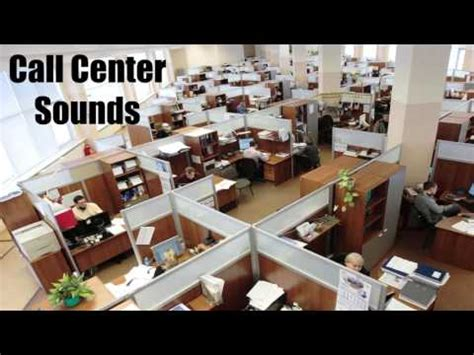 call center sounds work from home office ambience