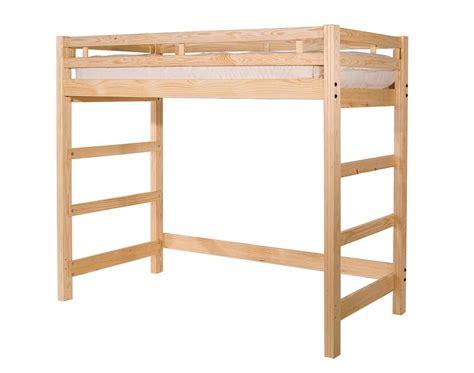 Unfinished Bunk Bed Space Saving Unfinished Loft Bed Best Furniture Loft Beds Bunk Beds And Etc