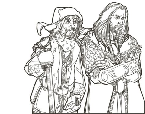 20 free printable the hobbit coloring pages