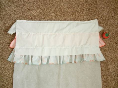 Ruffled Crib Skirt Tutorial by Ruffled Crib Skirt Tutorial The Ribbon Retreat
