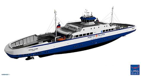 boat building estonia remontowa shipbuilding signs newbuilding contract for two