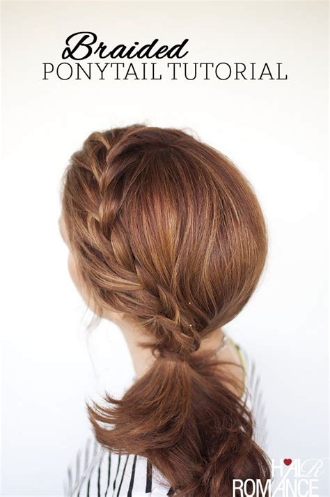 ponytail bob cut instructions best 25 how to style braids ideas on pinterest hair