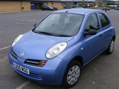 blue nissan micra used nissan micra 2005 petrol 1 2 s 5dr auto hatchback