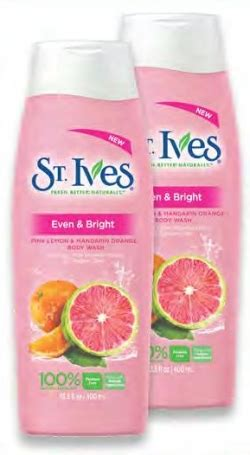 St Ives Wash 400 Ml st ives wash 400ml carrefour offers