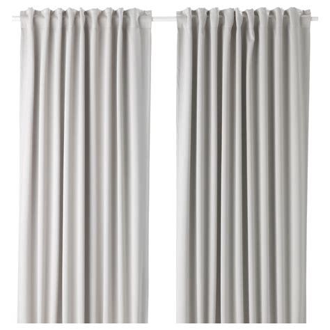 light blocking curtains ikea majgull block out curtains 1 pair light grey 145x250 cm
