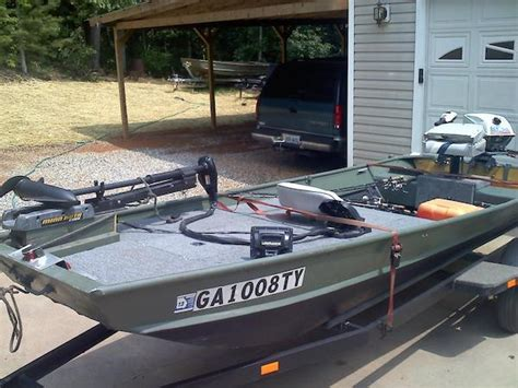 fishing off a deck boat 10 decked out jon boats you ll want for yourself