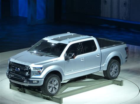 concept ford truck ford atlas concept shows the future of trucks at detroit