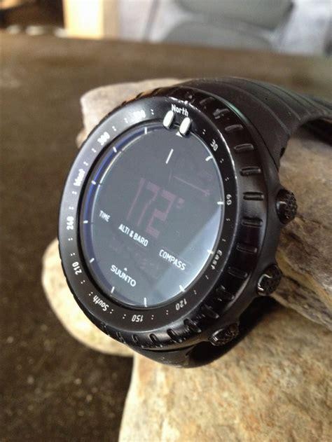 Black Review suunto all black altimeter review