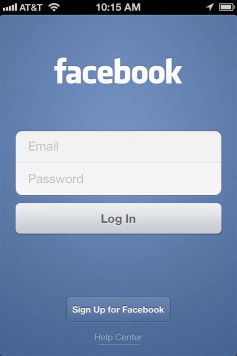 log facebook sign in the api driven life of your facebook mobile app