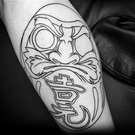 daruma doll tattoo wonderful ideas of daruma doll golfian
