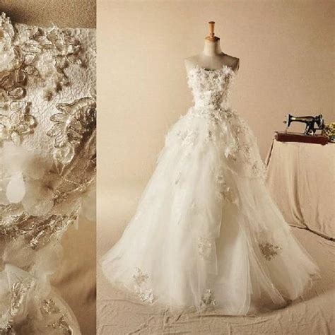 Wedding Dress Handmade - wedding dress handmade bridal gown lace wedding