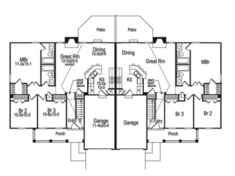 suburban house floor plan