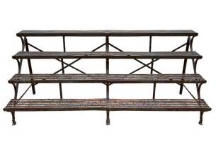 Wrought Iron Wall Shelves by Bakers Racks Wrought Iron Bakers Rack Plant Stand Plant