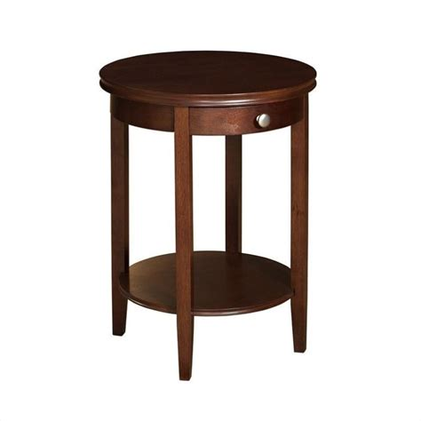 furniture accent tables powell furniture shelburne cherry accent table 998 506