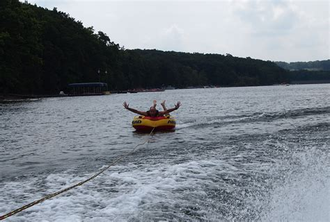 cool boat tubes a cloudy cool day of wakeboarding and tubing nomad