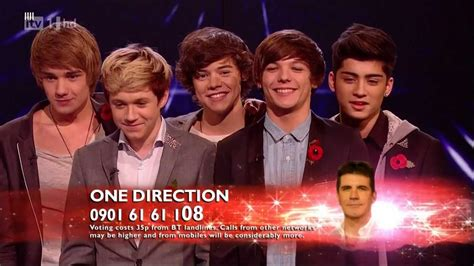 one direction x one direction the x factor 2010 live show 6 the way