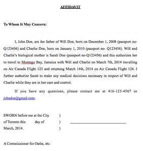 Authorization Letter For Child Leave The Country letter of application letter of consent application form mom