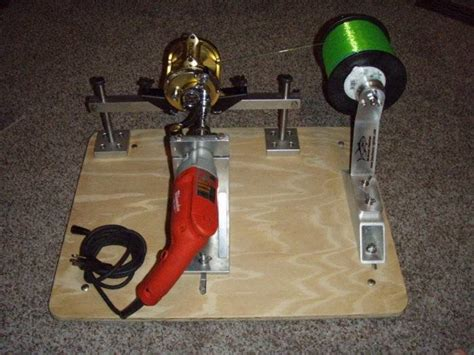 diy fishing line winder diy do it your self line winder bloodydecks