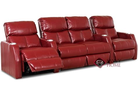 theater couch seating atlantis leather sofa by savvy is fully customizable by