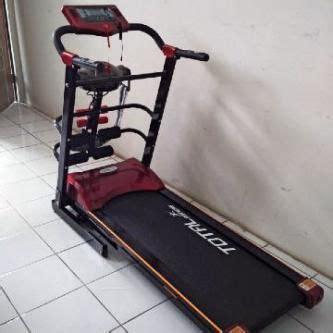 Treadmill Elektrik 1 5hp Tl 629 treadmill elektrik 4 in 1 tl 3210 motor 1 5 hp alat fitnes di apaterman murah