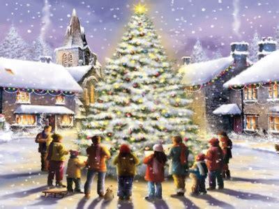 village arena carols round the christmas tree