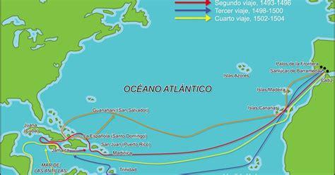 rutas de los barcos de cristobal colon blog de 5 186 b de primaria viajes de col 243 n