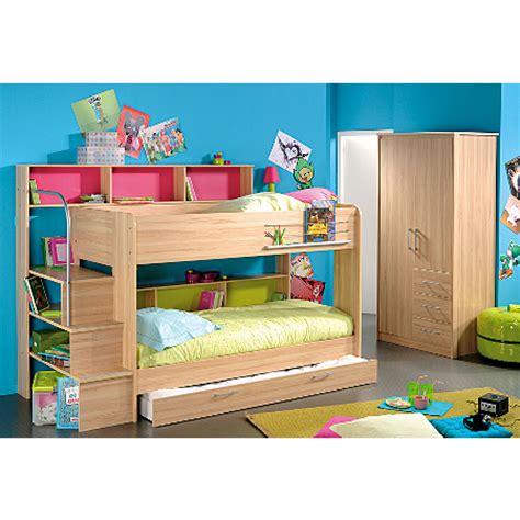 Asda Bunk Beds Elliott Bunk Bed With Trundle Furniture Asda Direct
