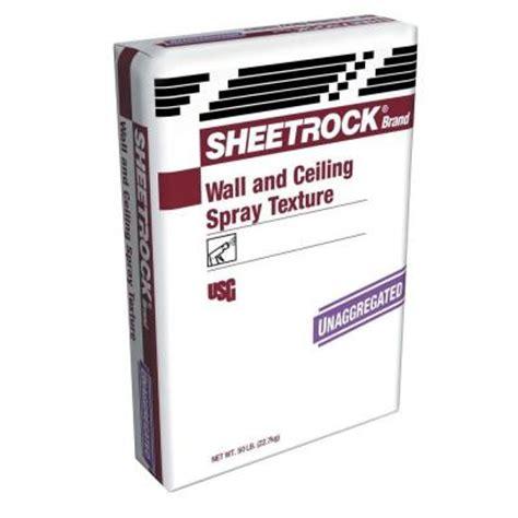 sheetrock ceiling spray texture sheetrock brand 50 lb unaggregated wall and ceiling spray