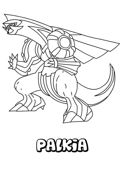 pokemon coloring pages palkia water pokemon coloring pages palkia